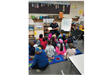 Police Officer Reading to a Class