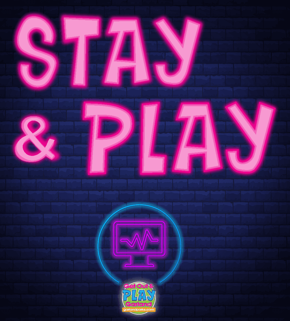 Neon lights with Stay-and-PLAY virtual recreation